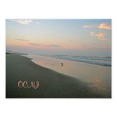 Pastel Sunrise in Ocean City, New Jersey Print