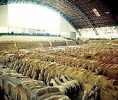 The Mausoleum of the First Emperor of the Qin Dynasty and Terracotta Warriors and Horses - China