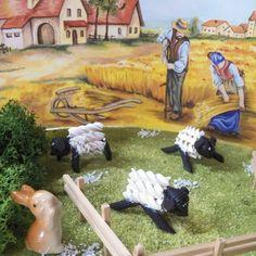 Piccolini Barilla oggi ha pubblicato le mie pecore da realizzare con la pasta
