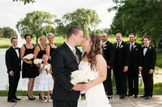TWA Weddings at the Hilton Chicago/Oak Brook Hills Resort & Conference Center | Click the picture to enter our Wedding Giveaway!