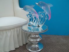 Barbies Dolphin Table by bedsbystar on Etsy, $18.00