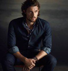 """Beyond The Hills - Spanish label Massimo Dutti enlists Dutch model Wouter Peelen to showcase a part of its offering for the upcoming season and more exactly its """"Limited Collection"""" Portrait Photography Men, Photography Poses For Men, Portrait Poses, Massimo Dutti Hombre, Male Poses, Men Style Tips, Male Beauty, Gorgeous Men, Hot Guys"""