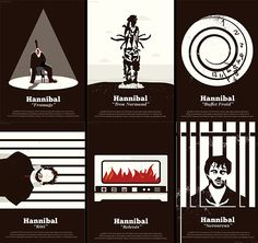 Hannibal Episode Posters (2/2)