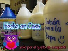 Jabón líquido para la ropa en la lavadora o para limpiar el suelo, cocina o baño. Especialmente indicado para los niños o personas con piel sensible o dermat...