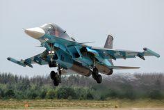 Su-34 by Sergey Chaikovskiy, via 500px