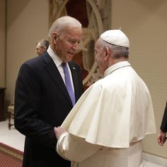 Vice President Joe Biden and The Pope