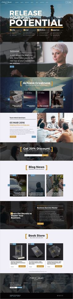 Wonderful premium #PSD template project is an elegant solution for #webdesign a Life #Coaching website download now➩ https://themeforest.net/item/life-coach-psd-website-template/19099966?ref=Datasata