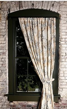 Give me a tree, barren of leaves and set in a stark wintry landscape, and I couldn't be happier. (Admittedly, it's not the cheeriest image -. Tree Curtains, Art Decor, Decor Ideas, Leafy Plants, Lounge Ideas, Baby Boy Rooms, Scatter Cushions, Geometric Designs, Unique Home Decor