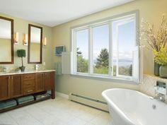 Bathroom with a View - contemporary - bathroom - burlington - by Peregrine Design Build