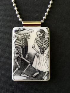Day of the Dead jewelry Dia de los Muertos jewelry Halloween