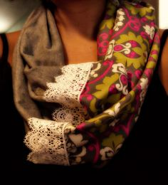 Easy Sewing Projects - Infinity scarf