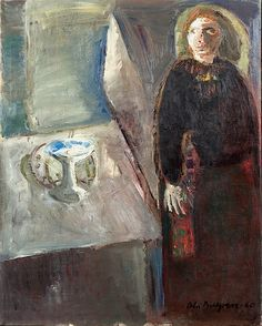Ola Billgren - Portrait of a Woman