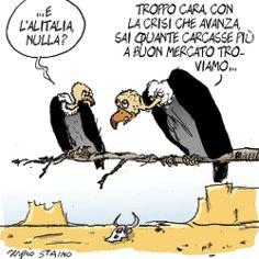 Sergio Staino - l'Unità 19 settembre 2008