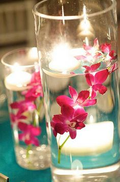 ALL ABOUT HONEYMOONS  Become our Facebook FAN!  https://www.facebook.com/AAHsf  submerged flowers