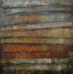 "Colette W. Davis, Oil on Gallery Canvas, ""COMPOUND INTEREST"""