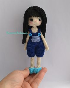 Crochet: Amigurumi Girl Doll