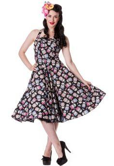 Hell Bunny Meurtos Sugar Skulls Rockabilly Vintage 50s Style Party Prom Dress (XS) Hell Bunny,http://www.amazon.com/dp/B00AXJJT3C/ref=cm_sw_r_pi_dp_vTaDsb1ZJSRA6CN7