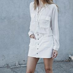 Clean up your palette this season by injecting a few white pieces to create the chicest head-to-toe ensemble.