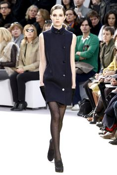 Céline Fall 2010 Ready-to-Wear Fashion Show - Caroline Brasch Nielsen (Elite)
