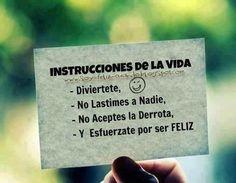 Se feliz, aprende español.   VeinteMundos.com