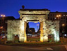 Zaragoza. Monumentos. Puerta del Carmen