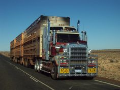 Road Train moving along..