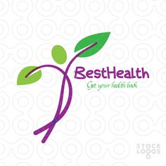 Logo design for professional branding of Australian business companies from Logo People by experienced logo designers presents custom made best graphic design work Health Facts, Health Quotes, Best Logo Design, My Design, Health Tips For Women, Health Lessons, Health Logo, Lessons For Kids, Healthy Snacks For Kids