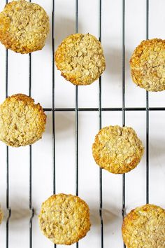 The banana oat cookies are made from oats, fruit and nuts and are a much healthier alternative to shop bought cookies. Perfect for breakfast or a snack.