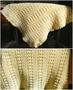 Free Crochet Pattern Basic and sweet child cover for that exceptional young lady. An example pattern is reasonable for cutting edge amateurs and is adjustable for your decision of yarn and gauge gauge and completes estimate. Full article with thepattern is below. SAVE THISPATTERN TO YOUR CROCHET PINTEREST BOARD HERE! Little Miss Sunshine Baby Blanket …
