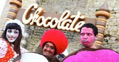 The sweet smell of rich dark chocolate is once again in the air in central Portugal. It is Óbidos Chocolate Festival time. For this twelfth edition taking place 14 March to 6 April,