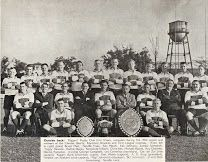 Diggers' Rugby Club XV unbeaten during the 1960 season and winners of the Chester Beatty, Raymond Brookes and First League Trophies. Rugby Club, Digger, South Africa, Seasons, Chester, History, Google Search, Sports, Hs Sports