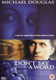 Don't Say A Word with Michael Douglas Movies To Watch Online, Watch Movies, Say Word, Mystery Thriller, Film Review, Latest Movies, Good Movies, Movies And Tv Shows, Science Fiction