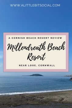 Millendreath Beach Resort is situated roughly 3 miles (7-minute drive) from the nearby fishing town of Looe in the South East of Cornwall. It has a small family-friendly beach with water sports, an onsite cafe, and a beach bar in the spring and summer months. Check out our review of our most recent stay.