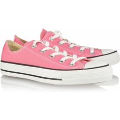 Converse Chuck Taylor canvas sneakers ($50) ❤ liked on Polyvore