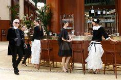Brasserie Chanel, Fall 2015   - HarpersBAZAAR.com