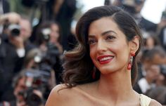 Amal Clooney, seen at the Cannes Film Festival in May is reportedly expecting twins with her husband, actor George Clooney. Amal Clooney, George Clooney, Feminist Issues, Human Rights Lawyer, Expecting Twins, Chanel Dress, Badass Women, Successful Women, Lace Crop Tops