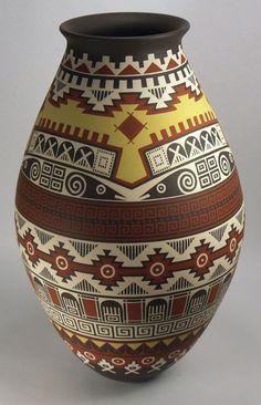 Mata Ortiz Pottery by Enrique Pedregon RAM | eBay
