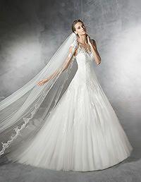 Pronovias > PRAMOLA - Robe de mariée en DENTELLE