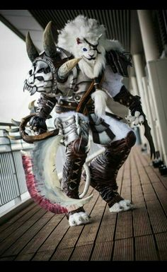 I have no idea what this is from, but it sure is an amazing cosplay.