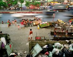 METROPOLIS 08 March 2010 Manila, Philippines  Half of humanity now lives in a city, and the United Nations has predicted that 70 percent of the world's population will reside in urban areas by 2050. Photo credit: Panos Pictures