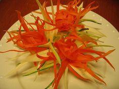 vegetable-flower-carving