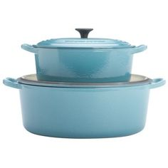 Le Creuset Caribbean Blue Oval French Oven