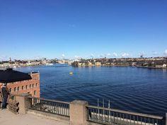 Blick auf Stockholm
