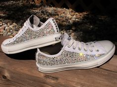 Swarovski Crystal Converse All Stars (Not including the shoes: Read Description). $120.00, via Etsy.