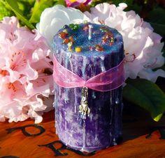 Eostre's Hare Blessings~ Ostara Ritual Pillar - pagan wiccan witchcraft magick ritual supplies