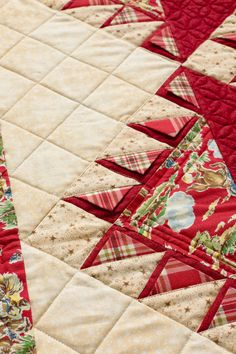 How to Piece Prairie Points Into a Quilt 3 d demonstration Quilting Tips, Quilting Tutorials, Machine Quilting, Quilting Projects, Quilting Designs, Sewing Projects, Crazy Quilting, Quilt Boarders, Quilt Blocks