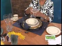 How to signal to your waiter & other table etiquette tips - The show hosts are a bit chatty but, don't let that distract you! There is great info here