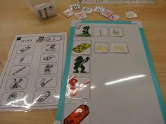 Atelier boites à syllabes 3 Cycle 3, Alphabet, Math, Games, Reading, School, Kids, Juliette, Ms Gs