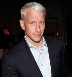 Anderson Cooper, don't care if he's gay.