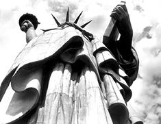 Margaret Bourke-White, Statue of Liberty, NYC 1930